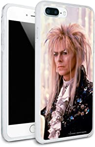 David Bowie As Jareth from The Labyrinth Candles Background Protective Slim Fit Hybrid Rubber Bumper Case for Apple iPhone 7 and 7 Plus