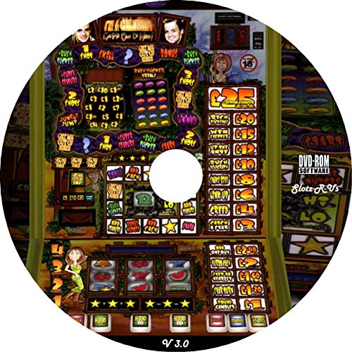 Fruit Machine Emulator Simulator DVD 1240+ Machines PC Laptop Slot Game Windows Slots Games Sim Touch Screen