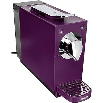 Cremesso Automatic - Cafetera de cápsulas, color morado: Amazon.es: Hogar