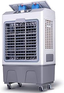 XNY Enfriador de Aire extraíble Industrial, Gran Ventilador de Aire Acondicionado con 3 en 1 refrigeradores evaporativos, humidificador, purificador, para el hogar, Oficina, fábrica