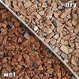 瓦チップ ブラウン 5-10mm 15kg(13.6L)