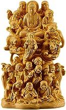 Sculptures Head Sculpture Sculpture Statue Eighteen Arhats Sculpture Buddha Statue Solid Wood Decoration Home Decor