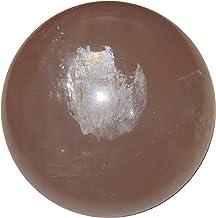 Satin Crystals Rose Quartz Sphere Crystal Healing Ball Broken Hearts Club Learn to Love Again Star Madagascar Stone, Premi...