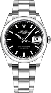 Rolex Perpetual 34mm Domed Bezel 115200