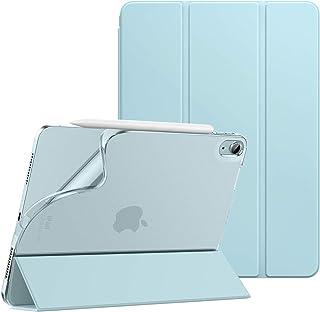 iPad Air 4 ケース 2020 Dadanism iPad 10.9インチ カバー 2020モデル アイパッド エア 第4代 タブレットケース オートスリープ機能 軽量 薄型 PU+TPU 三つ折り スタンドケース 半透明 ソフト マイ...