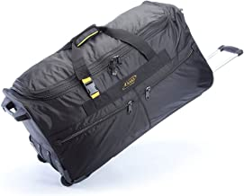 A.Saks Sports 31-inch Expandable Rolling Upright Travel Duffel Bag