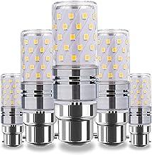 12W/16W LED Corn Light Bulb, B15/B22/E12/E16/E17/E26/E27 Warm/Cool White Kitchen Light 3000K/6500K, 360° Beam Angle Edison...
