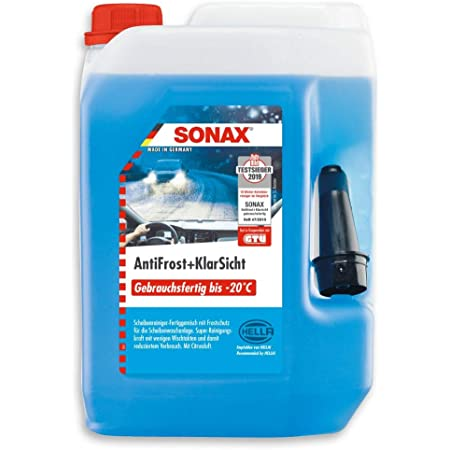 Preisjubel 2 X Sonax Antifrost Klarsicht Gebrauchsfertig 5 L Frostschutz Enteiser Auto