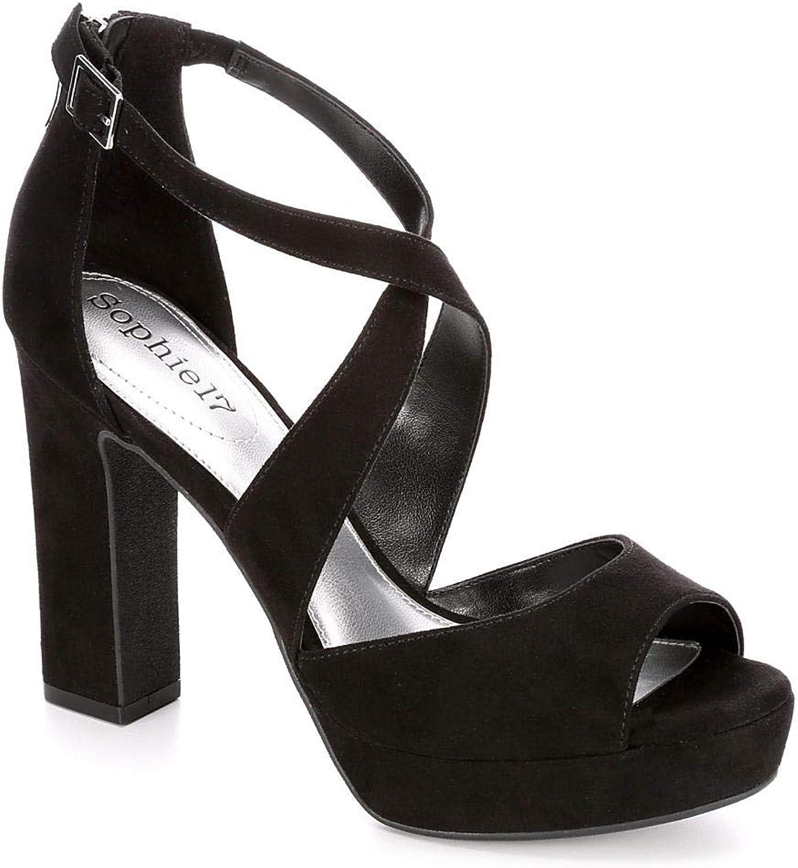 Sophie17 Womens Vanessa Platform Sandal shoes