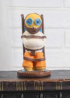Ebros Day of The Dead Pinheadz Monster with Voodoo Stitches Figurine Halloween Collectible Toy Statue Fantasy Mythical Bei...