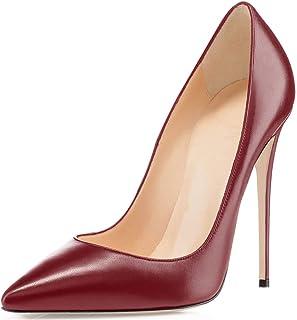 Soireelady Scarpe col Tacco Donna,Scarpe da Donna Eleganti,Scarpe Chiuse Donna