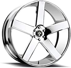 DUB Baller 26 Chrome Wheel / Rim 6x5.5 with a 31mm Offset and a 78.1 Hub Bore. Partnumber S115260077+31