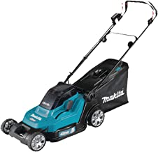 Makita DLM432CT2 Twin 18V (36V) Li-ion LXT 43cm Lawnmower Complete with 2 x 5.0 Ah Batteries and Twin Port Charger