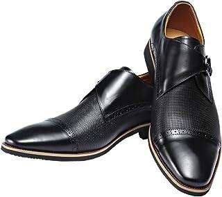 6af1d1d7cb6a Men Genuine Leather Shoe Slip-On Leather Lining Oxford Dress Shoes Black
