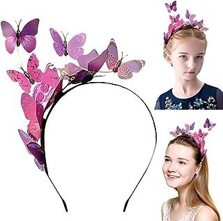 Fascigirl Womens Headband Butterfly Headband Elegant Party Headband for Girl