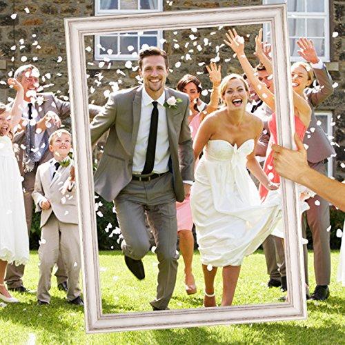 Hochzeits-Bilderrahmen | 50 x 70 weiß - 3