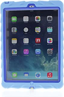 Apple iPad Air Drop Tech Light Blue Gumdrop Cases Silicone Rugged Shock Absorbing Protective Dual Layer Cover Case