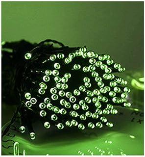 BOCbco Lampa solarna LED, zewnętrzna, LED, łańcuch świetlny LED, święto wróżek, święta Bożego Narodzenia, girlanda solarn...
