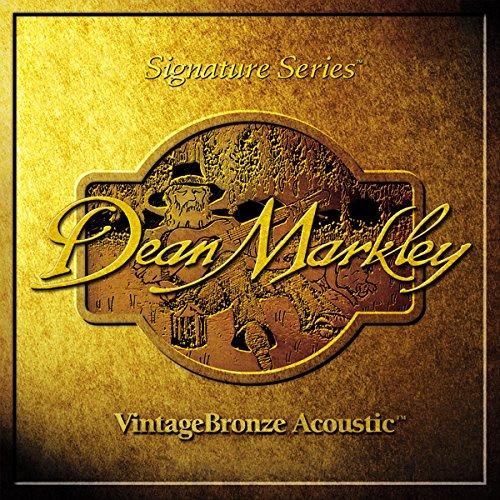 Dean Markley 2202 - Juego de cuerdas para guitarra acústica, 12 cuerdas