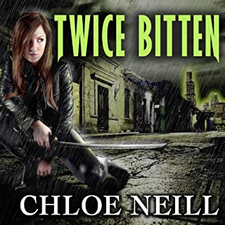 Twice Bitten audiobook cover art