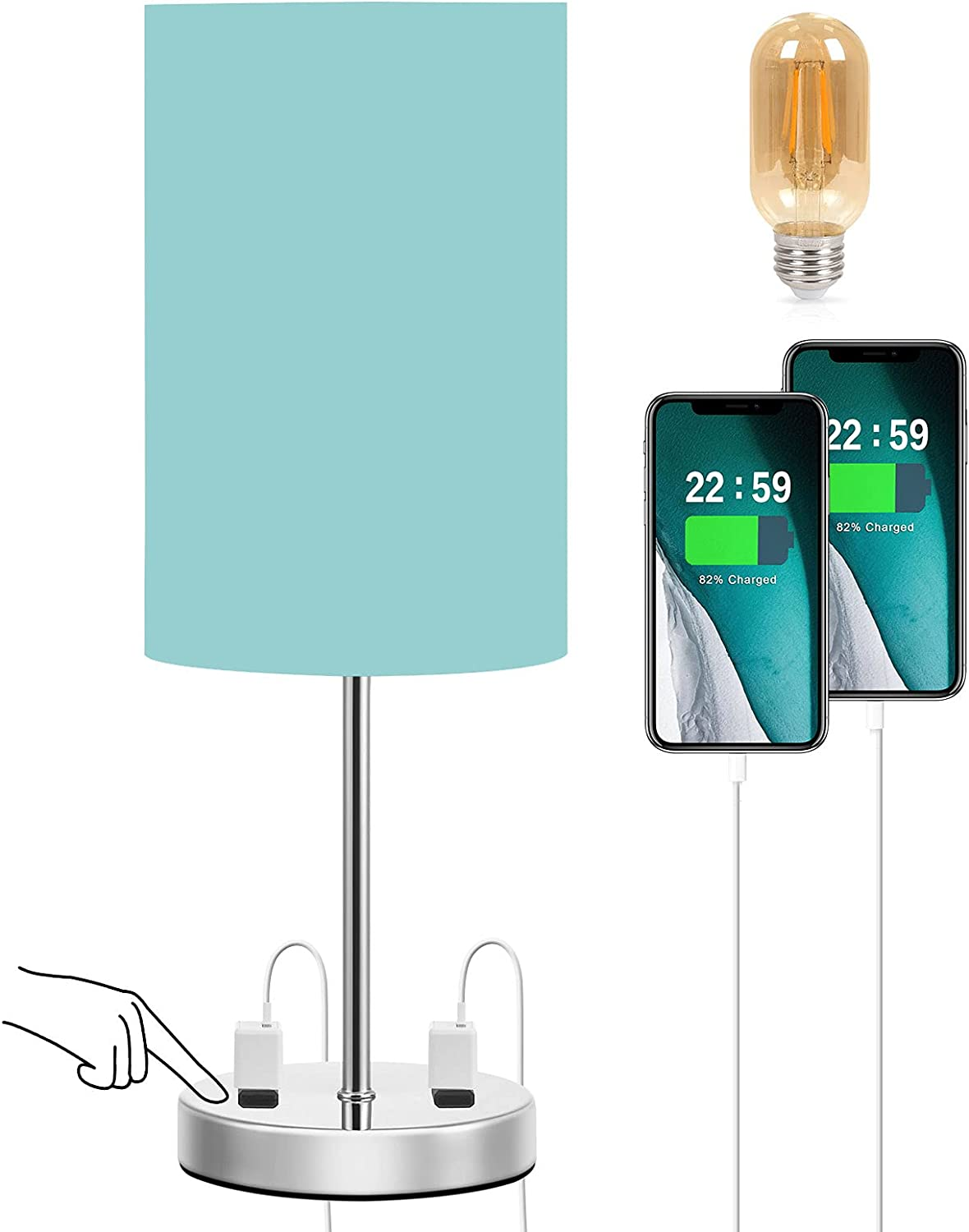 Doowo Touch Table Lamp for Sales of SALE items from new works Bedroom Small In a popularity Way fo 3 Dimmable