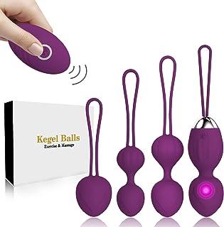 Kegel Balls for Women Ben Wa Balls Pelvic Floor Exercises and Tightening for Beginners & Advanced Kegel Exercise Weights (Purple)