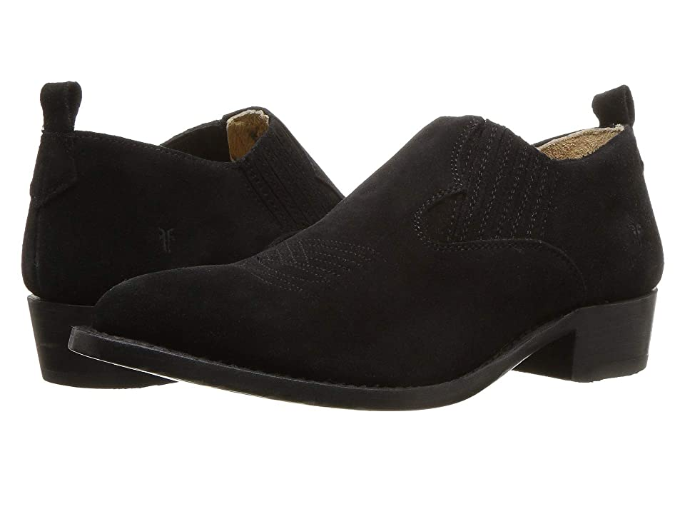 Frye Billy Shootie (Black Oiled Suede) Women