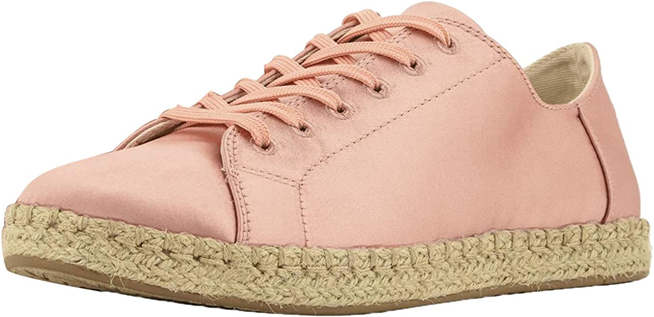 TOMS Womens Lena Lace Up Sneakers Shoes Casual - Pink - Size