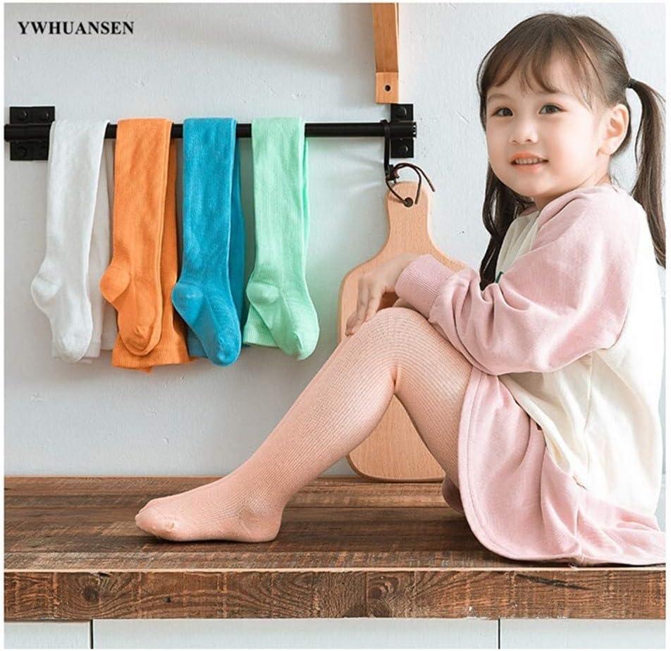 GLBS Gek/ämmte Baumwolle Kind-S/ü/ßigkeit-Farben-M/ädchen-Baby-Strumpfhose Streifen Kleinkind-weich Newborn Strumpfhosen Warm Halten Qualit/äts-Baby-Gamaschen for Alter 0-11 Jahre