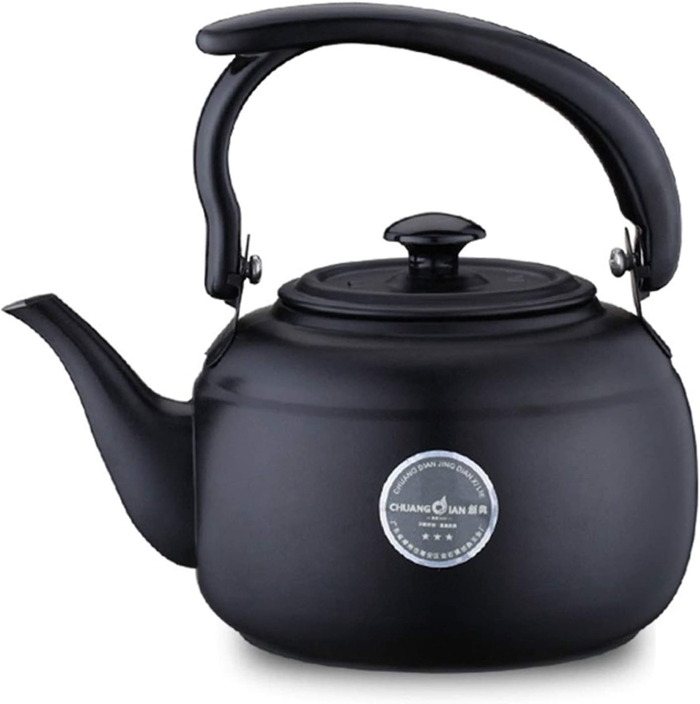 stainless steel tea kettle for stove Limited Special Price Stainless Black top Stee 1l Ultra-Cheap Deals