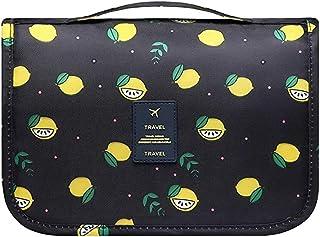 حقيبة لوازم التجميل المحمولة للسفر من شركة مولاي لتنظيم أدوات التجميل للنساء والفتيات مقاومة للماء