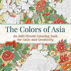 The colors of asia coloring book