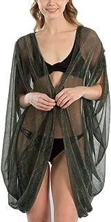 Me Plus Women Fashion Soft Metallic Net, Shawl Evening Wrap Beach Wrap Cover up