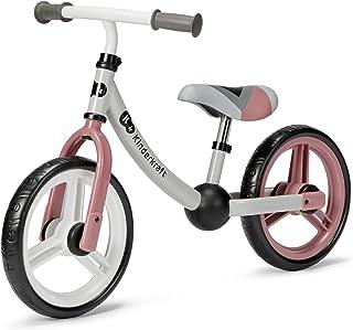 Kinderkraft Balanscykel 2WAY NEXT, springcykel, gåcykel för barn, småbarn, rosa