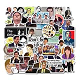 Acekar The Office Stickers Pack of 50 Stickers - The Office Stickers for Laptops,The Office Laptop Stickers, Funny Stickers for Laptops, Computers, Hydro Flasks (The Office)
