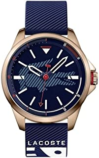 Lacoste Men's Blue Dial Silicone Band Watch - 2010964