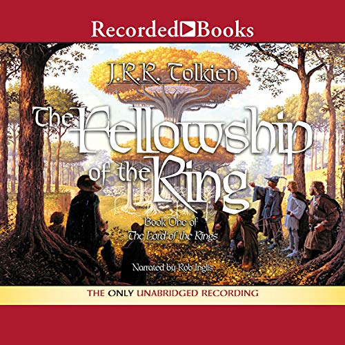 The Fellowship of the Ring audiobook cover art