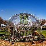 astreea Igloo Model L Iglu, transparent, sehr widerstandsfähig, ideal für Terrasse und Garten, für Zuhause, Restaurant, Hotel, Camping Iglu ist ideal für alle