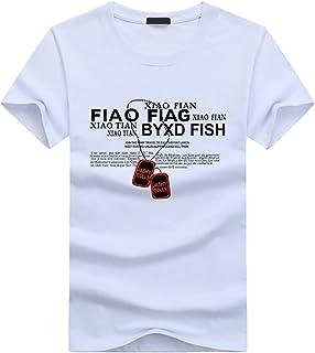 BUZZxSELECTION(バズ セレクション) Tシャツ 半袖 おしゃれ 英字 プリントネックレス メンズ レディース BSTS010