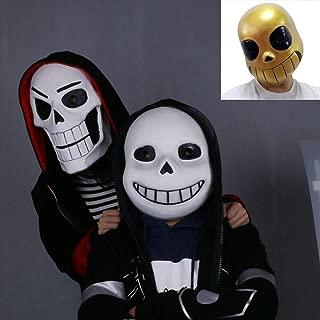 Cosplay Game Undertale Sans Mask Papyrus Skull Deluxe Halloween Party Costume Latex Full Head Helmet Prop