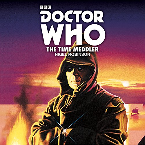 Doctor Who: The Time Meddler audiobook cover art