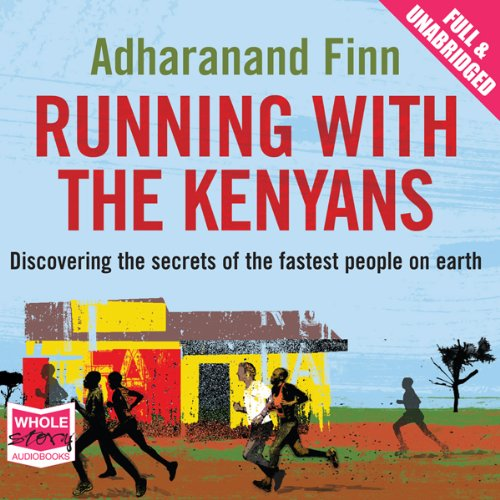 Running with the Kenyans audiobook cover art