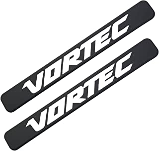 Aimoll 2pcs Vortec Emblems, Badges for Chevrolet 2500hd GMC Sierra Silverado Gm Truck Liter Badges (Black White)