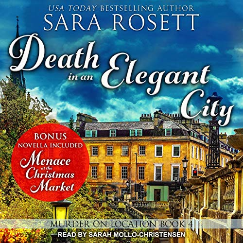 Death in an Elegant City audiobook cover art