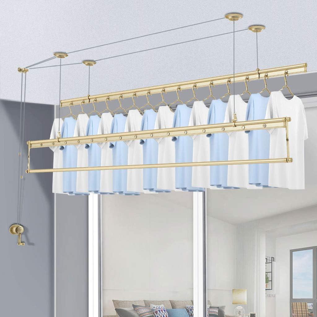 JKKJ Aluminum Alloy Drying Rack Hand Oakland Mall Three Clothes Max 60% OFF Q Lift Poles
