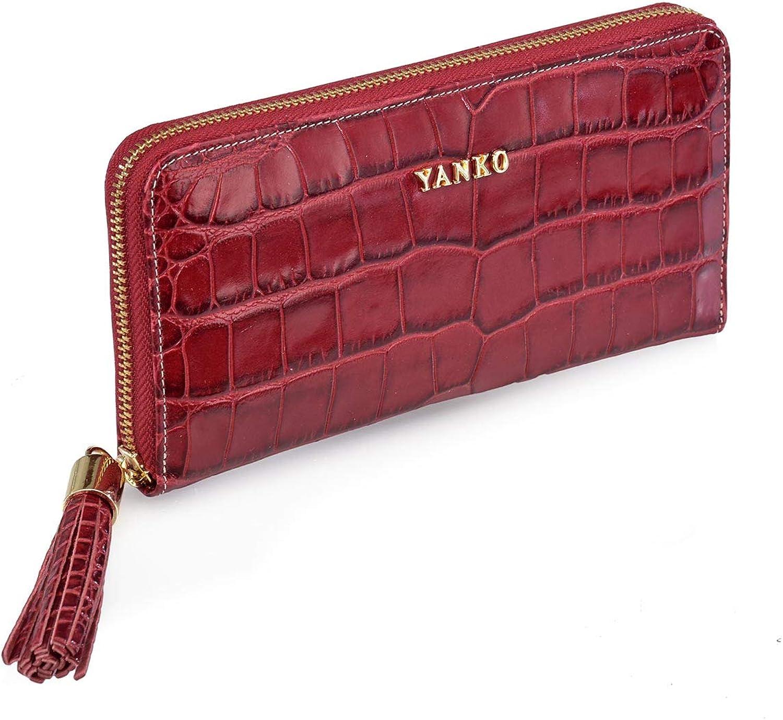 Yanko 7261-799, Damen Damen-Geldbörse Rot rot Größe unica B07DCPCSQ1