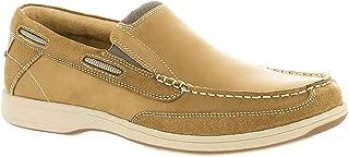 Men's Lakeside Slip,Brown Crazy Horse Leather,US 7.5 XW