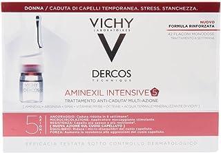 Vichy Dercos Aminexil intensieve 5 haaruitvalbehandeling voor vrouwen 42 ampullen