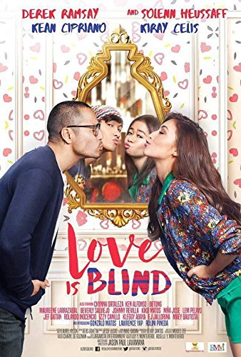 Love is Blind - Philippines Filipino Tagalog DVD Movie