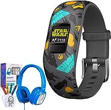 Garmin Vivofit jr. 2 Adjustable Star Wars Resistance Activity Tracker (010-01909-31) w/Bonus Deco Gear Kids Safe Ear Headphones